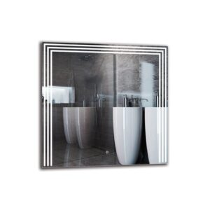 Cally Bathroom Mirror Metro Lane Size: 80cm H x 80cm W
