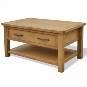 Calvin Coffee Table with Storage Union Rustic