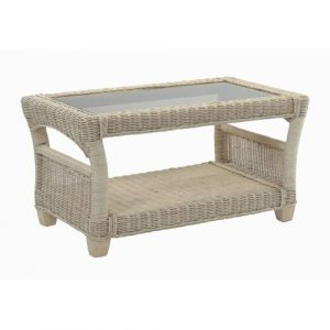 Carly Natural Coffee Table with Storage Beachcrest Home