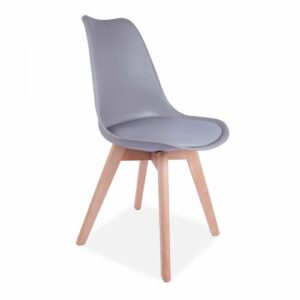 Carol Dining Chair Isabelline Colour: Light Grey