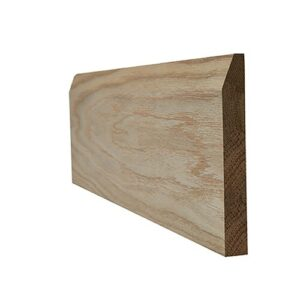 Chamfered Skirting Door Accessory LPD Doors Door Size: 220cm H x 14.8cm W x 1.8cm D