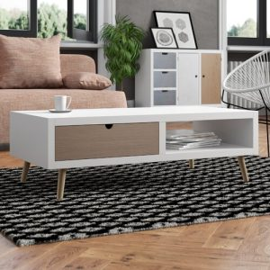 Coffee Table with Storage Fjørde & Co
