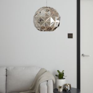 Edasich Chrome effect Pendant ceiling light