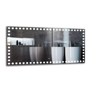 Everdene Bathroom Mirror Metro Lane Size: 60cm H x 120cm W