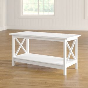 Finlayson Coffee Table Marlow Home Co. Colour: White