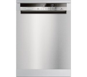 GRUNDIG GNF41821X Full-size Dishwasher - Stainless Steel, Stainless Steel