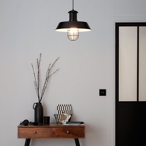 Genly Black Pendant ceiling light