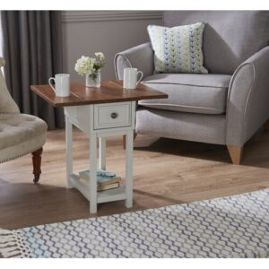 Giovanny Side Table with Storage August Grove
