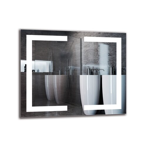Gracie-May Bathroom Mirror Metro Lane Size: 50cm H x 60cm W