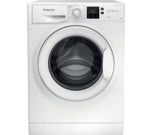 HOTPOINT Coreu0026tradeNSWR 843C WK UK 8 kg 1400 Spin Washing Machine - White, White