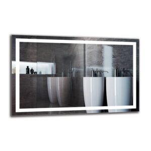 Harvir Bathroom Mirror Metro Lane Size: 70cm H x 110cm W
