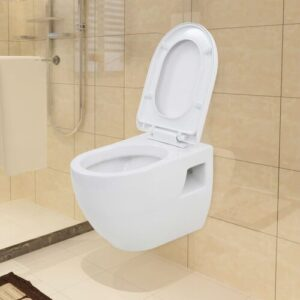 Highwood Wall Hung Toilet with Soft Close Seat Belfry Bathroom