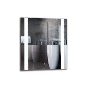 Hoya Bathroom Mirror Metro Lane Size: 80cm H x 70cm W