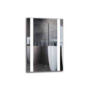 Hoya Bathroom Mirror Metro Lane Size: 90cm H x 60cm W