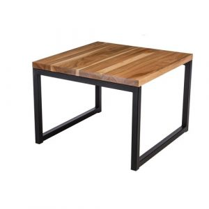 Huntley Coffee Table Mercury Row Colour (Table Base): Black, Size: 43cm H x 60cm L x 60cm W