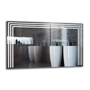 Iman Bathroom Mirror Metro Lane Size: 50cm H x 80cm W