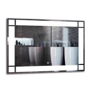 Imasdun Bathroom Mirror Metro Lane Size: 50cm H x 70cm W