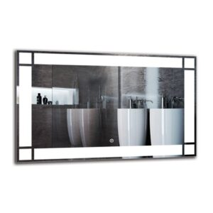 Imasdun Bathroom Mirror Metro Lane Size: 50cm H x 80cm W