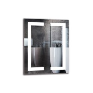 Imran Bathroom Mirror Metro Lane Size: 50cm H x 40cm W