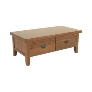 Irma Coffee Table with Storage Union Rustic
