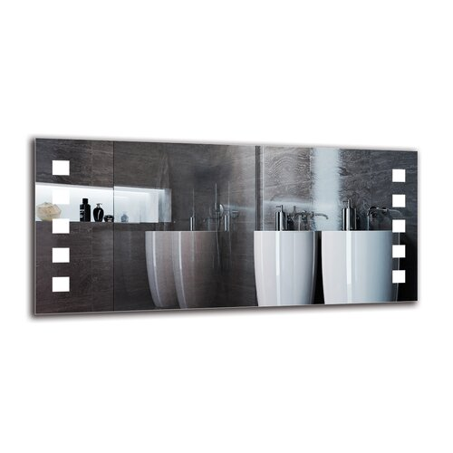 Jasleen Bathroom Mirror Metro Lane Size: 60cm H x 130cm W