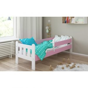 Judd Toddler Cabin Bed Isabelle & Max Bed Frame Colour: Pink/White, Lying surface: 80 x 160cm