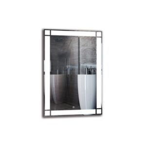 Kasbar Bathroom Mirror Metro Lane Size: 90cm H x 60cm W