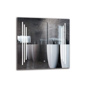 Khacheres Bathroom Mirror Metro Lane Size: 60cm H x 60cm W