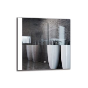 Khat Bathroom Mirror Metro Lane Size: 60cm H x 60cm W