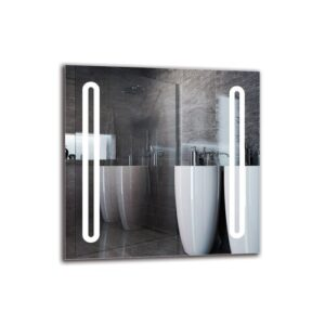 Kiah Bathroom Mirror Metro Lane Size: 60cm H x 60cm W