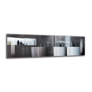 Kint Bathroom Mirror Metro Lane Size: 40cm H x 130cm W