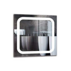 Kirandeep Bathroom Mirror Metro Lane Size: 50cm H x 50cm W