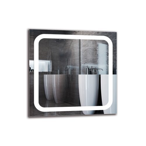 Kirandeep Bathroom Mirror Metro Lane Size: 60cm H x 60cm W