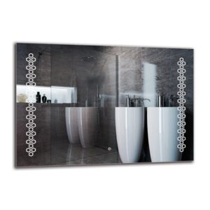 Krikor Bathroom Mirror Metro Lane Size: 70cm H x 100cm W