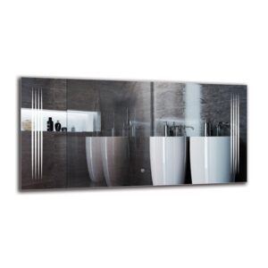 Krkur Bathroom Mirror Metro Lane Size: 60cm H x 120cm W