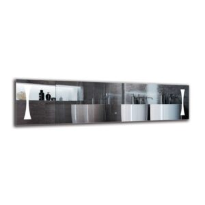 Lampron Bathroom Mirror Metro Lane Size: 40cm H x 150cm W