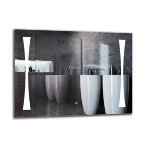 Lampron Bathroom Mirror Metro Lane Size: 60cm H x 80cm W