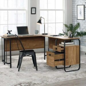 Letson L-Shaped Executive Desk Williston Forge
