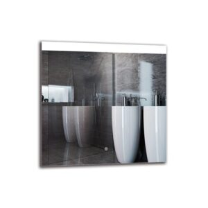 Malkhas Bathroom Mirror Metro Lane Size: 70cm H x 70cm W