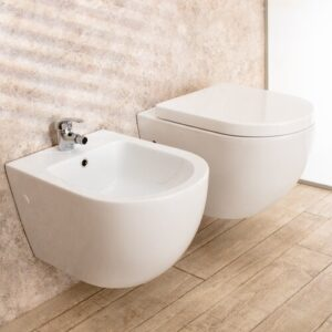 McLarty Wall Hung Toilets with Soft Close Seat Belfry Bathroom