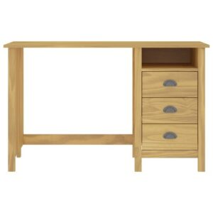 Michaelis Desk Brambly Cottage Frame Colour: Brown