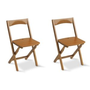 Millwright Wood Folding Chair August Grove Finish: Cherry