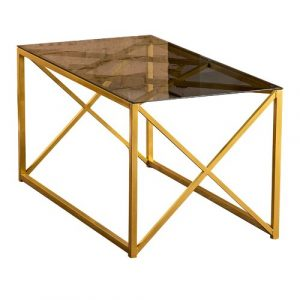 Minkler Coffee Table Ebern Designs Colour: Gold