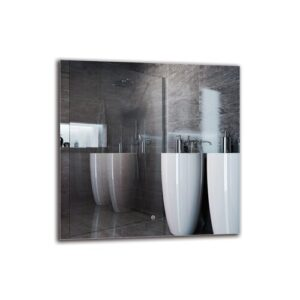 Mntsur Bathroom Mirror Metro Lane Size: 80cm H x 80cm W