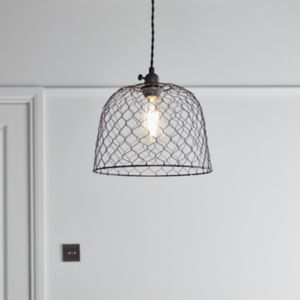Muanza Matt Black Pendant ceiling light