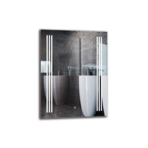 Mushegh Bathroom Mirror Metro Lane Size: 80cm H x 60cm W