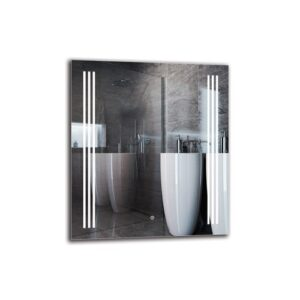 Mushegh Bathroom Mirror Metro Lane Size: 80cm H x 70cm W