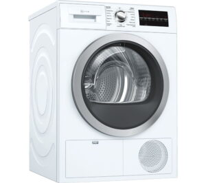 NEFF R8580X3GB 9 kg Condenser Tumble Dryer - White, White