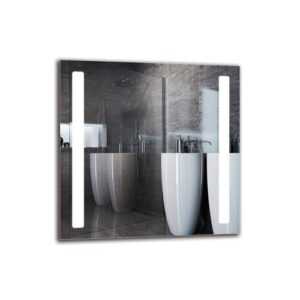 Najee Bathroom Mirror Metro Lane Size: 80cm H x 80cm W