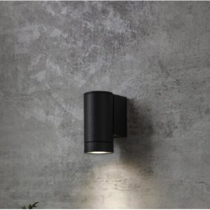Neola 1-Light Outdoor Armed Sconce Sol 72 Outdoor Fixture Finish: Black